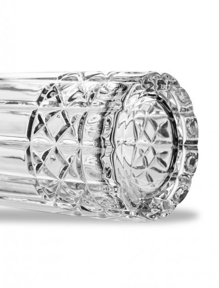 Ποτήρι νερού με ανάγλυφα σχέδια σετ 6 τεμαχίων
