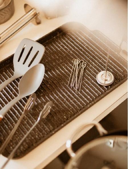 Θερμόμετρο μαγειρέματος ανοξείδωτο