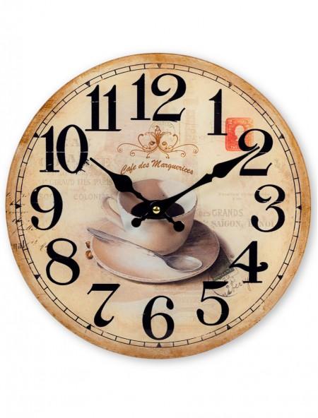 Ρολόι τοίχου Cafe des Marquerices