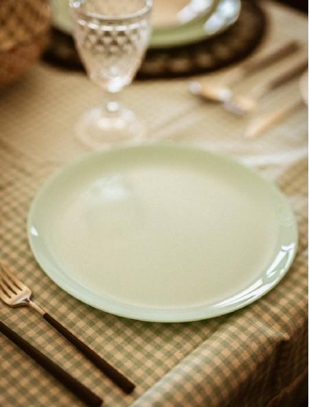 Πιάτο φαγητού άθραυστο ρηχό