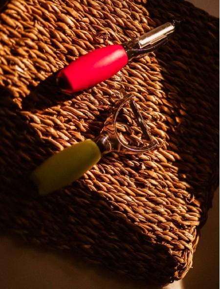 Αποφλοιωτής ανοξείδωτος - peeler με λαβή σιλικόνης