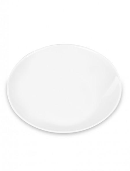 Πιάτο φαγητού άθραυστο βαθύ λευκό