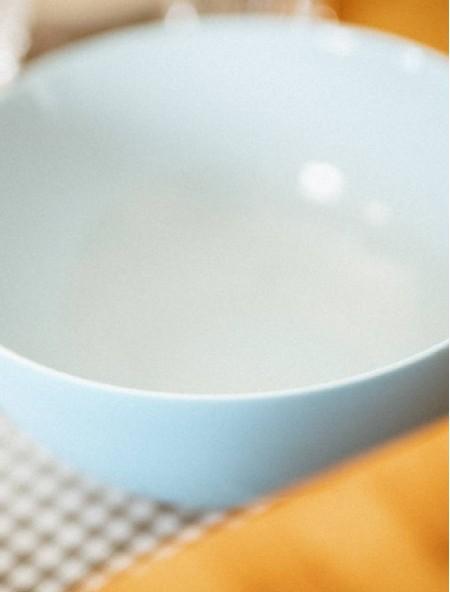 Σαλατιέρα άθραυστη στρογγυλή γαλάζια