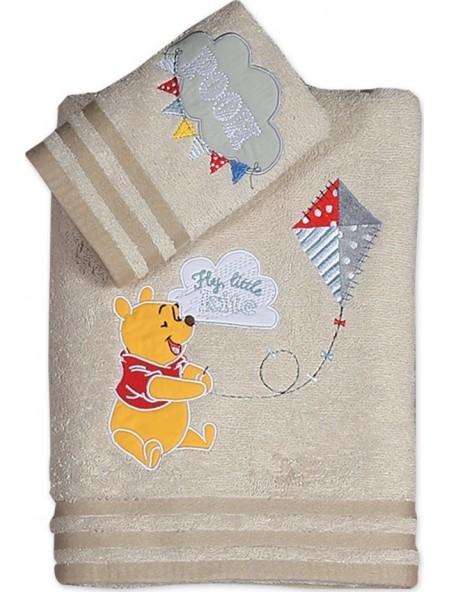 Βρεφικές πετσέτες σετ 2 τεμαχίων Winnie Fly Kite NEF NEF