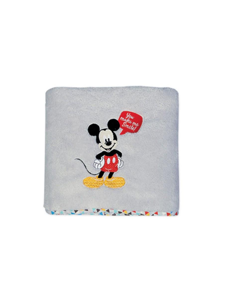 Βρεφική κουβέρτα αγκαλιάς Mickey Smiles NEF NEF