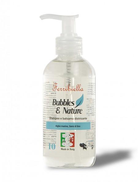 Σαμπουάν και conditioner για σκύλους Bubbles & Nature 250ml