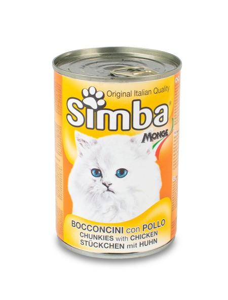 Κονσέρβα γάτας Simba κοτόπουλο 415gr