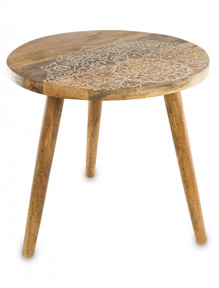 Τραπεζάκι ξύλινο σκαλιστό