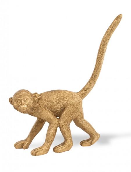 Διακοσμητική μαϊμού χρυσή
