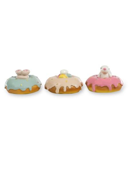 Διακοσμητικά donuts σετ 3 τεμαχίων