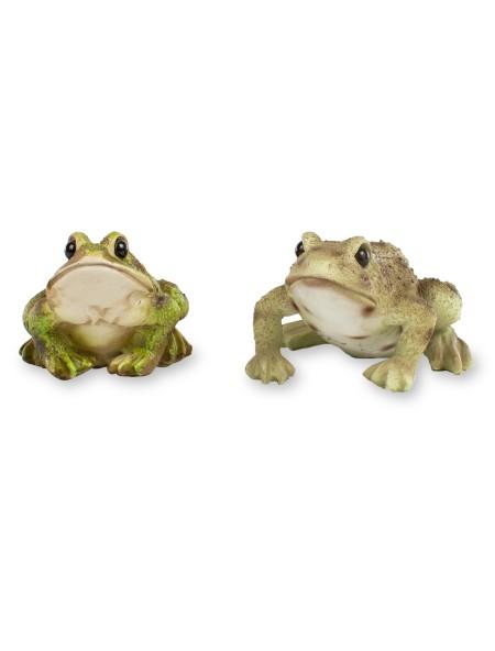 Διακοσμητικός βάτραχος σετ 2 τεμαχίων