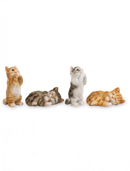 Διακοσμητικά γατάκια σετ 4 τεμαχίων