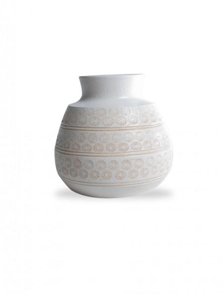 Βάζο κεραμικό με σχέδια της άμμου