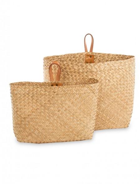 Θήκη περιοδικών bamboo σετ 2 τεμαχίων