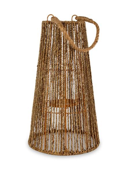 Φανάρι διακοσμητικό με σχοινιά