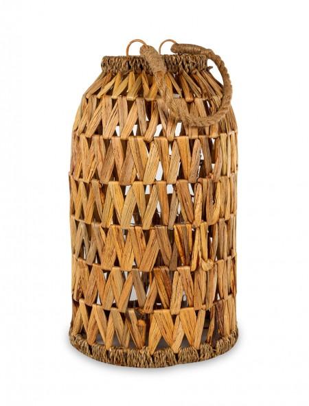 Φανάρι διακοσμητικό bamboo με χερούλι