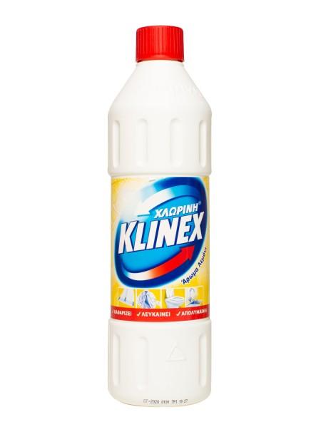 Klinex χλωρίνη λεμόνι 1L