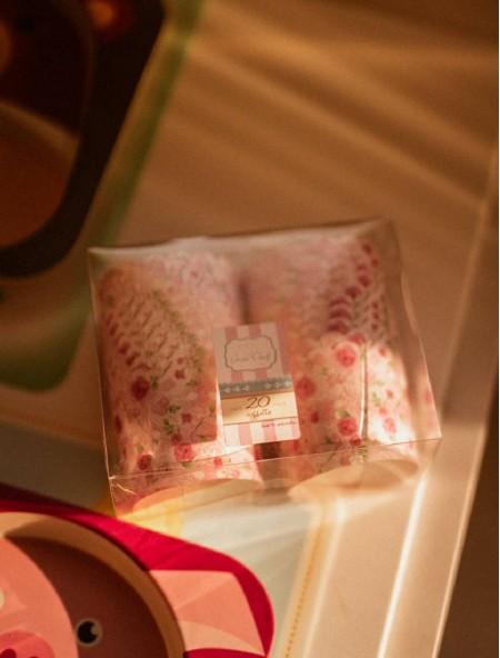 Χαρτάκια πυράντοχα για cupcakes σετ 20 τεμάχια ροζ
