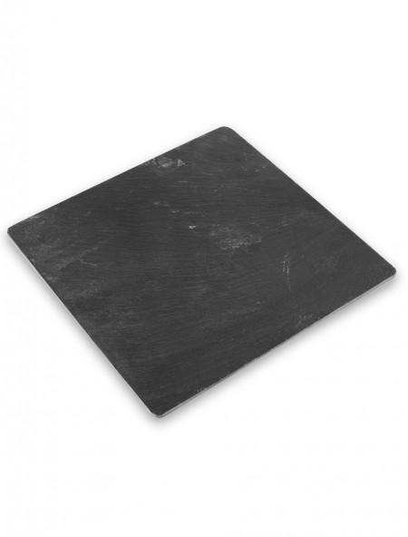 Πιάτο πλατώ τετράγωνο μαύρο