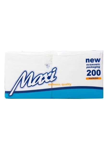 Maxi χαρτοπετσέτες 28x30cm 200 τεμάχια