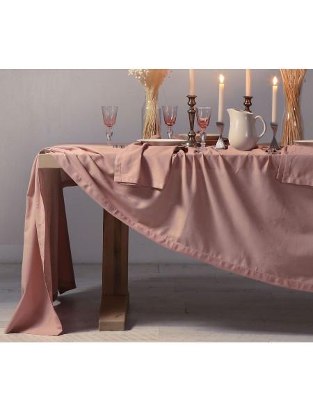 Τραπεζομάντηλο Cotton-Linen ροζ NEF NEF