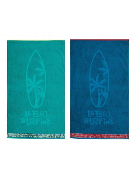 Πετσέτα θαλάσσης παιδική Let's Go Surfing NEF NEF