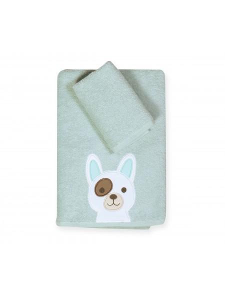 Βρεφικές πετσέτες σετ 2 τεμαχίων Dog NEF NEF