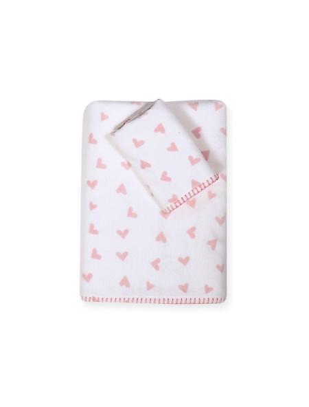 Βρεφικές πετσέτες σετ 2 τεμαχίων Bunny Ladies NEF NEF