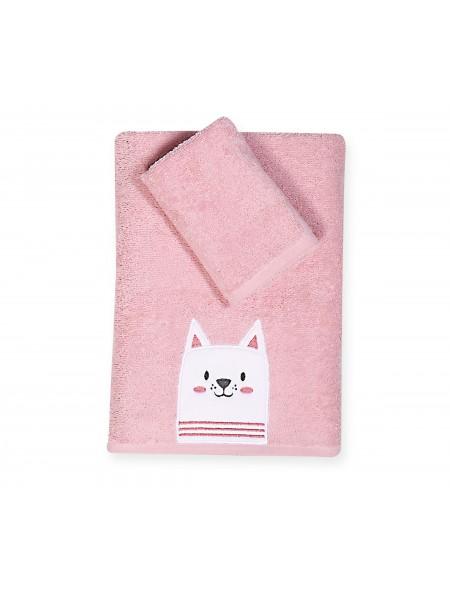 Βρεφικές πετσέτες σετ 2 τεμαχίων Cat NEF NEF