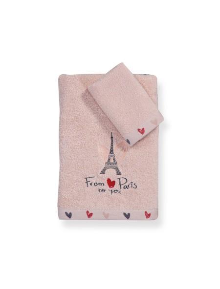 Πετσέτες παιδικές From Paris σετ 2 τεμαχίων NEF NEF