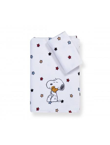 Πετσέτες παιδικές Snoopy Rainbow σετ 2 τεμαχίων NEF NEF