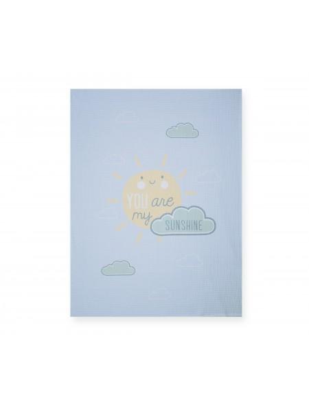Βρεφική κουβέρτα αγκαλιάς πικέ Sunshine NEF NEF
