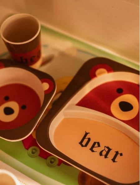 Σετ φαγητού Bear παιδικό